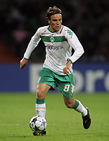 Fotball<br /> Tyskland<br /> 16.09.2008<br /> Foto: Witters/Digitalsport<br /> NORWAY ONLY<br /> <br /> Clemens Fritz<br /> <br /> Fussball Champions League Werder Bremen v Anorthosis Famagusta 0-0