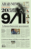 September 11, 2021 - ASIA-PACIFIC: Front-page: Today's Newspapers In Asia-Pacific