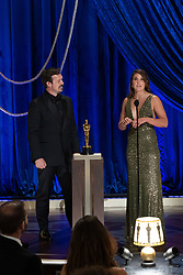 James Reed and Pippa Erlich accept the Oscar® for Documentary Feature during the live ABC Telecast of The 93rd Oscars® at Union Station in Los Angeles, CA, USA on Sunday, April 25, 2021. Photo by Todd Wawrychuk/A.M.P.A.S. via ABACAPRESS.COM