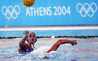 Vannpolo, Australia - Hellas, Sommer OL 2004, Athen, <br />24/08-04, <br />Vann polo en av de mindre kjennte OL grenene,<br />Foto: Sigbjørn Andreas Hofsmo, Digitalsport