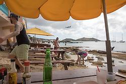 Calmo's Restaurant With Island Hopper Plane