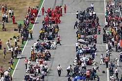 July 22, 2018 - Hockenheim, Germany - Motorsports: FIA Formula One World Championship 2018, Grand Prix of Germany, . Starting Grid, (Credit Image: © Hoch Zwei via ZUMA Wire)