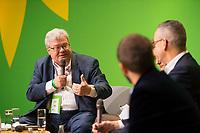 DEU, Deutschland, Germany, Berlin, 23.11.2018: Reinhard Bütikofer, co-chair of the European Green Party, MEP. Council of the European Green Party (EGP council) at Deutsche Telekom Representative Office.