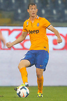 "Stephan Lichsteiner Juventus,<br /> Genova 24/8/2013<br /> Stadio ""Luigi Ferraris"" <br /> Football Calcio 2013/2014 Serie A <br /> Sampdoria - Juventus <br /> Foto Marco Bertorello Insidefoto"