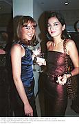 Tamara Mellon and Yasemin Mills. Vogue party. 1997. © Copyright Photograph by Dafydd Jones 66 Stockwell Park Rd. London SW9 0DA Tel 020 7733 0108 www.dafjones.com
