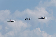 Bell P-63 Kingcobras at Airventure 2017.