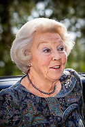 Princess Beatrix of The Netherlands attends the symposium Muscles2Meet of the princess Beatrix Spier