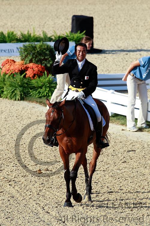 Atsushi Negishi - Mavrick du Granit<br /> Alltech FEI World Equestrian Games <br /> Lexington - Kentucky 2010<br /> © DigiShots