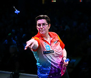 Vicky Pruim during the BDO World Professional Championships at the O2 Arena, London, United Kingdom on 4 January 2020.