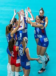 19-10-2018 JPN: Semi Final World Championship Volleyball Women day 20, Yokohama<br /> Serbia - Netherlands / Tijana Boskovic #18 of Serbia