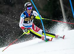 SIMONET Sandro of Switzerland during the Audi FIS Alpine Ski World Cup Men's Slalom 58th Vitranc Cup 2019 on March 10, 2019 in Podkoren, Kranjska Gora, Slovenia. Photo by Matic Ritonja / Sportida