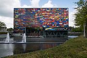 Het Nederlands Instituut voor Beeld en Geluid is een audiovisueel archief met museale functies gevestigd in Hilversum.