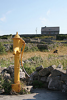 Old water pump on Inis Oirr County Galway Ireland