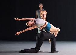 Northern Ballet <br /> Contemporary Cuts 2021 <br /> at Sadler's Wells, London, Great Britain <br /> 11th June 2021 <br /> Rehearsal <br /> Ballet is back for 2021 with this exciting compilation of world-class dance from Northern Ballet.<br /> <br /> States of Mind <br /> By Kenneth Tindall <br /> <br /> <br /> <br /> Contemporary Cuts 2021 <br /> Runs 11th & 12th June 2021 <br /> <br /> <br /> <br /> Photograph by Elliott Franks