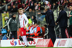 November 13, 2017 - Gdansk, Poland - Jakub Blaszczykowski (POL), Trener Adam Nawalka (POL) during the International Friendly match between Poland and Mexico at Energa Stadium in Gdansk, Poland on November 13, 2017. (Credit Image: © Foto Olimpik/NurPhoto via ZUMA Press)