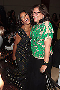 October 19, 2012-New York, NY: (L-R) Celebrity Stylist June Ambrose and Fern Mallis, President, Fern Mallis LLc and Creator, NY Fashion Week at the BRAG 42nd Annual Scholarship & Scholarship Awards Dinner Gala held at Pier Sixty at Chelsea Piers on October 19, 2012 in New York City. BRAG, a 501 (c) (3) not for profit organization, is dedicated to the inclusion of African Americans and all people of color in retail and related industries.  (Terrence Jennings)