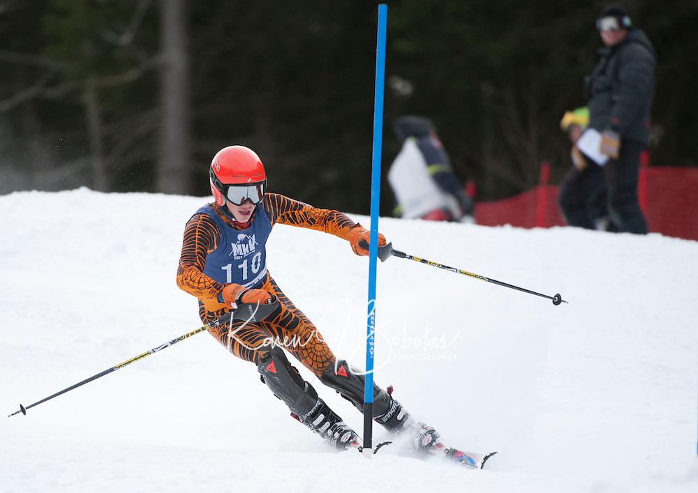 FIS Mens Slalom 2nd run at Attitash December 16, 2010