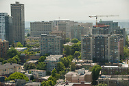 2018 JUNE 19 - Buildings and apartments and condominiums, First Hill, Seattle, WA, USA. By Richard Walker