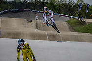 #373 (BLANC Renaud) SUI at the 2016 UCI BMX Supercross World Cup in Papendal, The Netherlands.