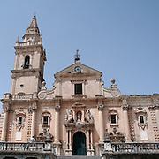 Cattedrale di San Giovanni Battista a Ragusa..Cathedral of San Giovanni Battista in Ragusa