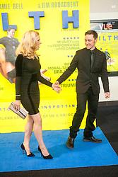 Shauna Macdonald and James McAvoy.<br /> Edinburgh hosts the World Premiere of Filth at the Omni cinema.<br /> ©Michael Schofield.