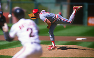 SAN FRANCISCO - 1991: Randy Myers of the Cincinnati Reds pitches during an MLB game at Candlestick Park in San Francisco, California.  Myers pitched for the Cubs from 1993-1995.(Photo by Ron Vesely)