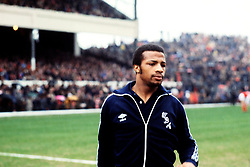 File Photo:  Former England forward Cyrille Regis has died aged 59. <br /> <br /> Cyrille Regis, West Bromwich Albion ... Soccer - Football League Division One - Arsenal v West Bromwich Albion ... 25-03-1978 ... Photo credit should read: S&G/S&G and Barratts/EMPICS Sport. Unique Reference No. 533843 ...
