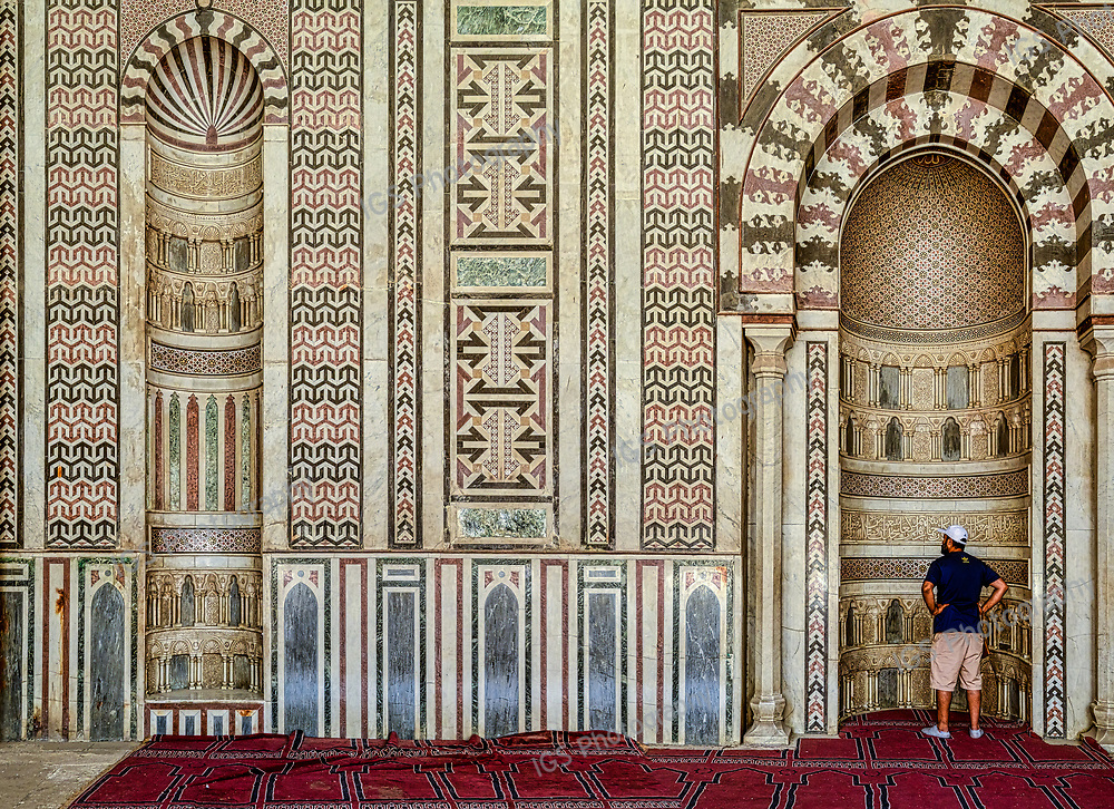 Mihrab of Mosque of Al-Nasir Muhammad at the Citadel in Cairo
