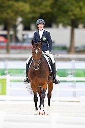 Sandra Karlsson, (SWE), Vouge E - Individual Test Grade Ib Para Dressage - Alltech FEI World Equestrian Games™ 2014 - Normandy, France.<br /> © Hippo Foto Team - Jon Stroud <br /> 25/06/14
