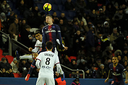 January 27, 2019 - Paris, Ile de France, France - Paris Saint Germain Midfield JULIAN DRAXLER in action during the French championship League 1 Conforama match Paris Saint Germain against Rennes at the Parc des Princes Stadium in Paris - France..Paris SG won 4-1 (Credit Image: © Pierre Stevenin/ZUMA Wire)