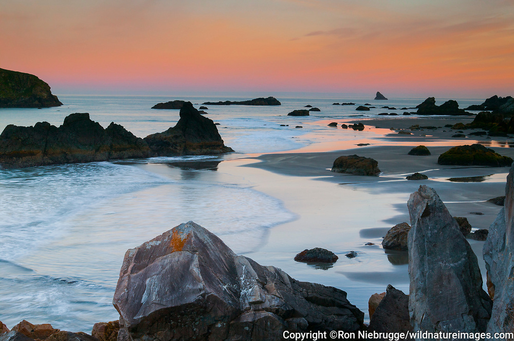 Harris Beach State Park,<br /> along the Southern Coast of Oregon