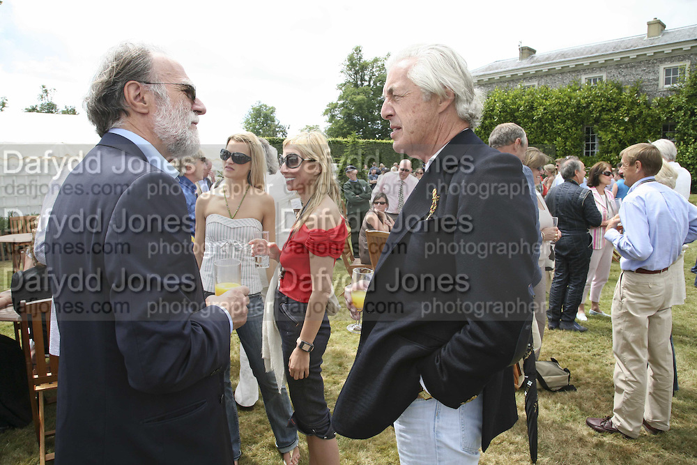 Lord Cowdray, Lady Alexandra Gordon-Lennox and Margarita Wennberg,Martin Summers.  Lady Alexandra Gordon-Lennox. Cartier Style et Luxe champagne reception and lunch at the  the Goodwood festival of Speed. 9 July 2006. -DO NOT ARCHIVE-© Copyright Photograph by Dafydd Jones 66 Stockwell Park Rd. London SW9 0DA Tel 020 7733 0108 www.dafjones.com