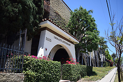 Markle attended the expensive Immaculate Heart High School, in Hollywood, pictured, from the age of 11 upto 18, fees now are $15,900 a year.<br /> <br /> <br /> <br /> FULL TEXT SEND TO YOU VIA E-MAIL. PLEASE CHECK CAPTION FOR FURTHER INFORMATION PER IMAGE.
