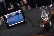 An Apple iPad is used as a stopwatch to time the contestants during the 2nd Annual Mock Barista Competition and Brewer's Cup at San Pedro Square Market in San Jose, California, on February 21, 2013.  (Stan Olszewski/SOSKIphoto)
