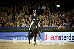 Dujardin Charlottte (GBR), Uthopia <br /> Reem Acra FEI World Cup Dressage<br /> Jumping Amsterdam 2016<br /> © Hippo Foto - Dirk Caremans<br /> 30/01/16