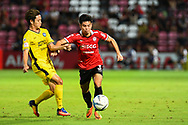NONTHABURI, THAILAND - JULY 02: Theerathon of SCG Muangthong United in action during the first half of the Thai League: SCG Muangthong United vs Pattaya United at SCG Stadium, Nonthaburi, Thailand on July 02, 2017.<br /> .<br /> .<br /> .<br /> (Photo by: Naratip Golf Srisupab/SEALs Sports Images)<br /> .<br /> Any image use must include a mandatory credit line adjacent to the content which should read: Naratip Golf Srisupab/SEALs Sports Images