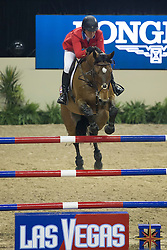 Madden Beezie, (USA), Simon<br /> Longines FEI World Cup™ Jumping Final III round 1<br /> Las Vegas 2015<br />  © Hippo Foto - Dirk Caremans<br /> 19/04/15