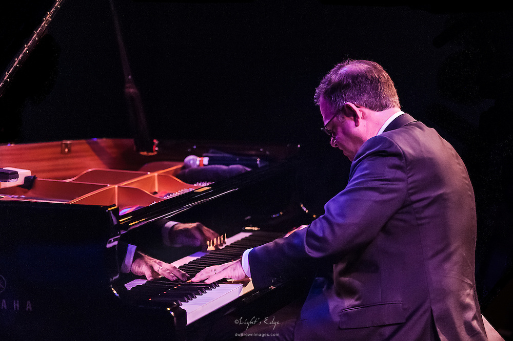 Bill Charlap, pianist, performing during the 2016 SOPAC 10th Anniversary Gala.