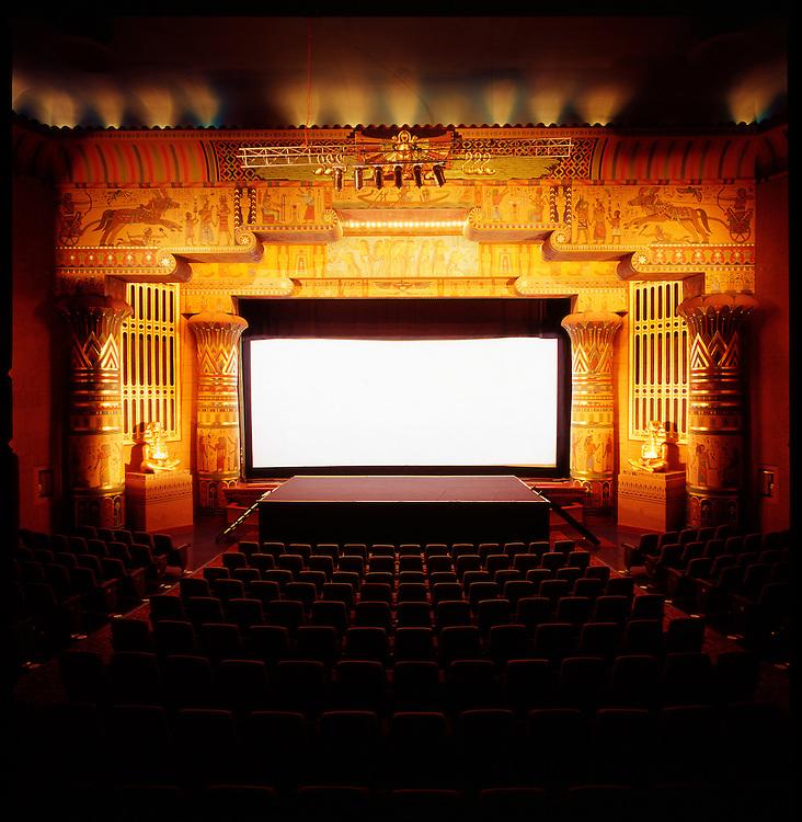 The historic Egyptian Theater in Boise, Idaho