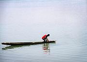 Fisherman on the Senegal River