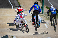 2021 UCI BMXSX World Cup<br /> Round 2 at Verona (Italy)<br /> 1/16 Finals<br /> ^me#40 NAVRESTAD, Tore (NOR, ME) Team_NOR, Speedco<br /> ^me#494 BRUNNER, Gil (SUI, ME) Team_CH, Nologo