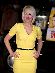Liz McClarnon arrives for the Run For Your Wife - UK film premiere Odeon -Leicester Sq- London Brit comedy about a happily married man - with two wives, Tuesday  February 5, 2013. Photo: Andrew Parsons / i-Images