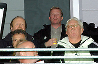 Fotball Royal League Trondheimn 11.11.2004 – Rosenborg – Djurgården 4-4 Nils Arne Eggen holdt seg på VIP-tribunen<br /><br />Foto: Carl-Erik Eriksson, Digitalsport