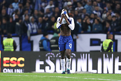 December 1, 2017 - Porto, Porto, Portugal - Porto's Portuguese midfielder Danilo Pereira reacts after end of game during the Premier League 2016/17 match between FC Porto and SL Benfica, at Dragao Stadium in Porto on December 1, 2017. (Credit Image: © Dpi/NurPhoto via ZUMA Press)