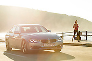BMW 3 series active hybrid shot on location in Herolds Bay, South Africa. Image by Greg Beadle Commercial photography commissioned to Beadle Photo by international brands