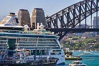 Cruise Ship, Sydney Cove
