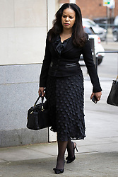 © Licensed to London News Pictures. 16/03/2021. London, UK. MP Claudia Webbe arrives at Westminster Magistrates Court .She is charged with one count of harassment and the trial is expected to last for one day.  Photo credit: George Cracknell Wright/LNP