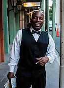 Paul, a waiter at Antoine's in New Orleans LA