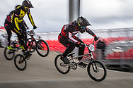 at the 2018 UCI BMX Superscross World Cup in Saint-Quentin-En-Yvelines, France.