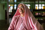 Nan Shwe Sin, head Nun at Compassion and Peace Nunnery, Nyaung Shwe